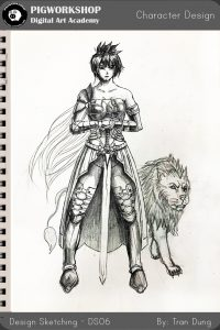 sp sketch by tran dung