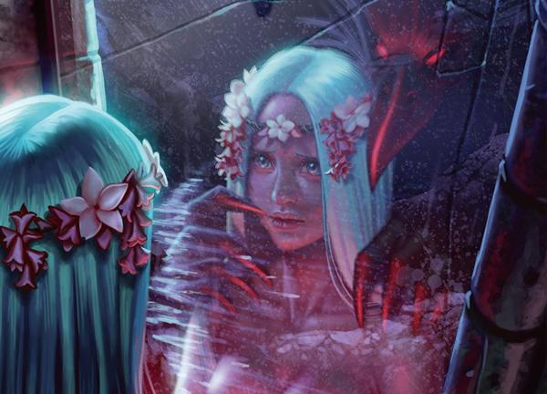 Digital Painting: Vẽ hình phản chiếu đúng